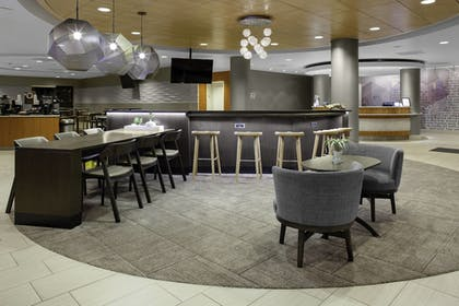 Lobby Sitting Area | SpringHill Suites Cincinnati North/Forest Park