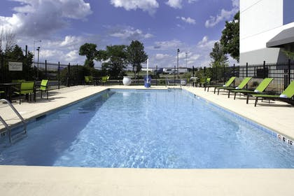 Outdoor Pool | SpringHill Suites Cincinnati North/Forest Park