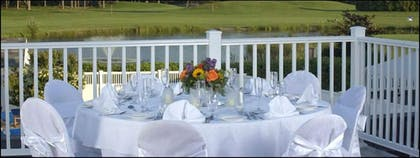 Outdoor Banquet Area | Resort & Conference Center at Hyannis