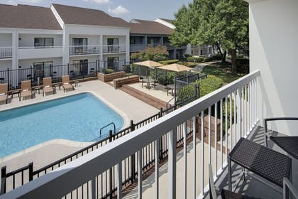 Balcony View | Courtyard by Marriott Addison Midway