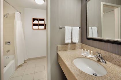 Bathroom | Courtyard by Marriott Addison Midway