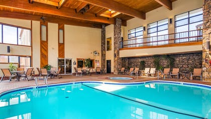 Indoor Pool | Best Western Center Pointe Inn