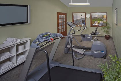 Fitness Facility | New Haven Village Suites