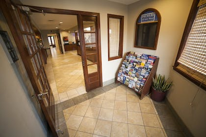 Interior Entrance | New Haven Village Suites