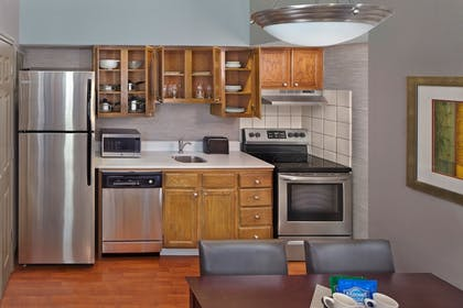 In-Room Kitchen | New Haven Village Suites