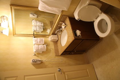Bathroom | New Haven Village Suites