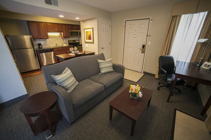 Living Area | New Haven Village Suites