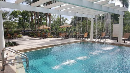 Pool Waterfall | Sheraton Orlando North Hotel