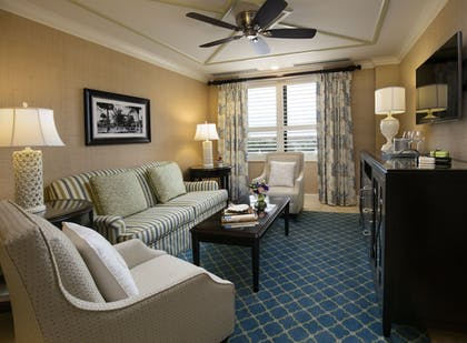 Living Area | The Breakers Palm Beach