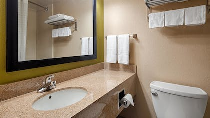 Bathroom | Best Western Adena Inn