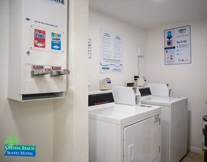 Laundry Room | Crystal Beach Suites Hotel