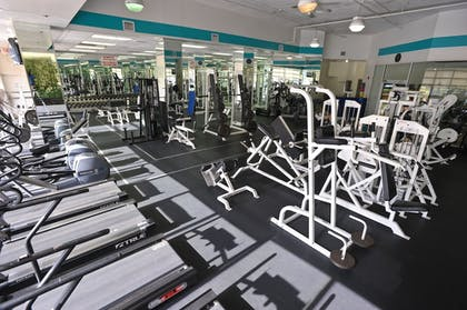 Gym | Crystal Beach Suites Hotel