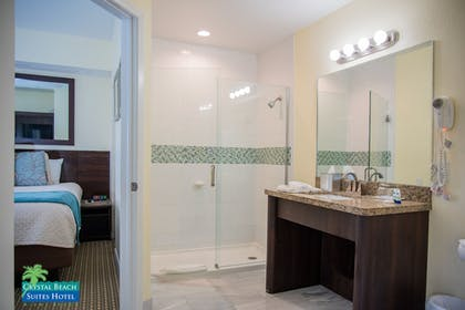 Bathroom | Crystal Beach Suites Hotel