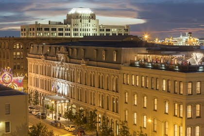 Hotel Front - Evening/Night | The Tremont House, A Wyndham Grand Hotel