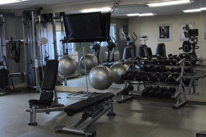 Fitness Facility | Ramada Plaza by Wyndham Fort Wayne Hotel & Conference Center