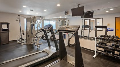 Fitness Facility | Best Western Socorro Hotel & Suites