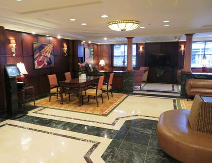 Interior Entrance | Skyline Hotel