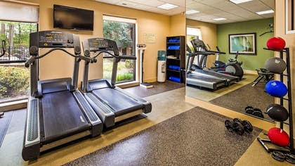 Fitness Facility | Best Western Plus Cary Inn - NC State