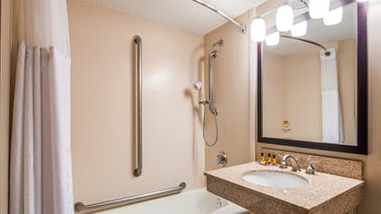 Bathroom | Best Western Plus St. Paul North/Shoreview