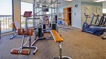 Fitness Facility | Best Western Ocean Reef Suites