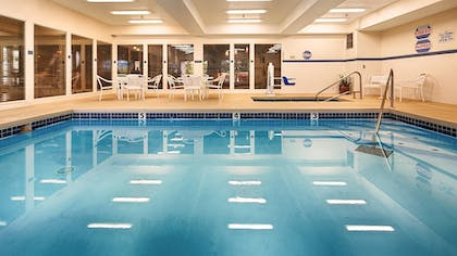 Indoor Pool | Best Western Plus Prairie Inn