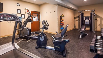 Fitness Facility | Best Western Plus Prairie Inn