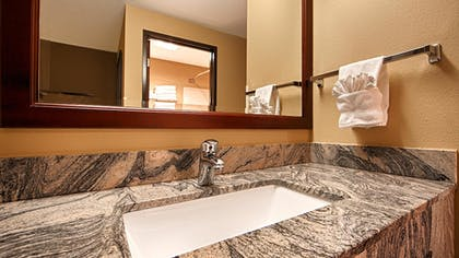 Bathroom Sink | Best Western Plus Prairie Inn