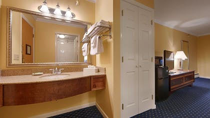 Bathroom Sink | Best Western White House Inn