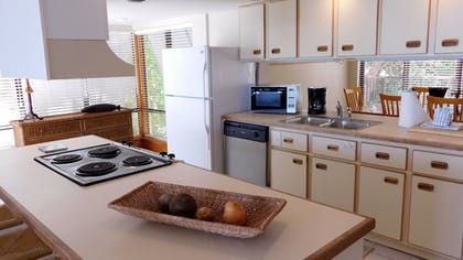 In-Room Kitchen | Pines & Palms Resort