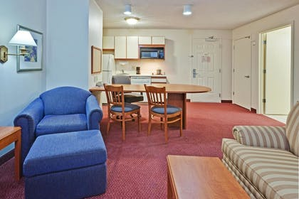 Living Room | Candlewood Suites - Syracuse Airport