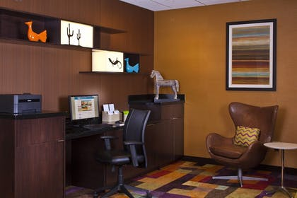 Business Center | Fairfield Inn & Suites by Marriott Houston Hobby Airport.