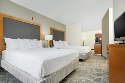 Guestroom | Springhill Suites By Marriott Houston Brookhollow