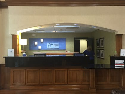 Reception   Holiday Inn Express Hotel & Suites Conover (Hickory Area)