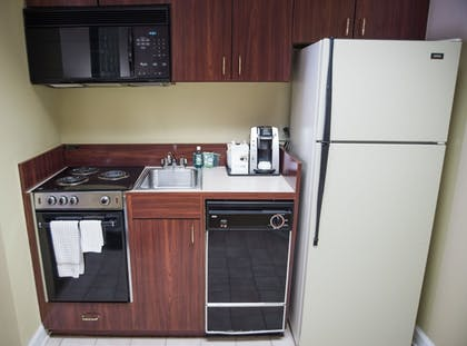 In-Room Kitchenette   Holiday Inn Express Hotel & Suites Conover (Hickory Area)