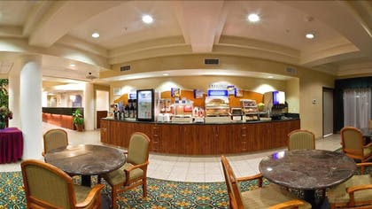 Breakfast Area | Holiday Inn Express & Suites Tacoma