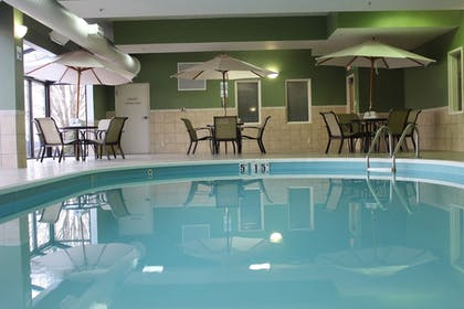 Pool | Holiday Inn Express Hotel & Suites Troy