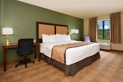 Guestroom | Extended Stay America - Asheville - Tunnel Road