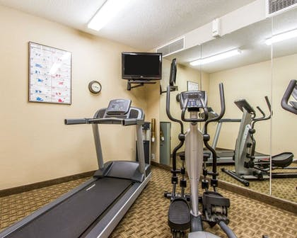 Fitness Facility | MainStay Suites Brentwood