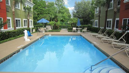 Pool | Extended Stay America -Orlando-Lake Mary-1040 Greenwood Blvd