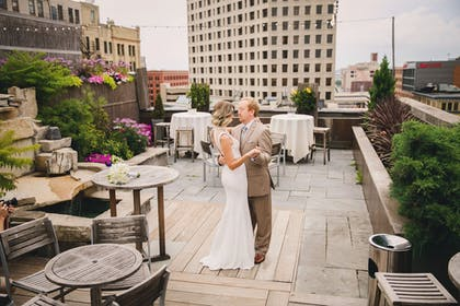 Outdoor Wedding Area | Hotel Metro