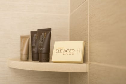 Bathroom Amenities | Ayres Suites Diamond Bar