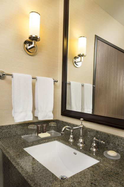 Bathroom | Ayres Suites Diamond Bar