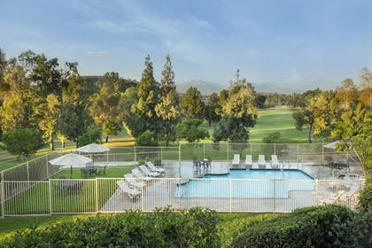 Outdoor Pool | Ayres Suites Diamond Bar