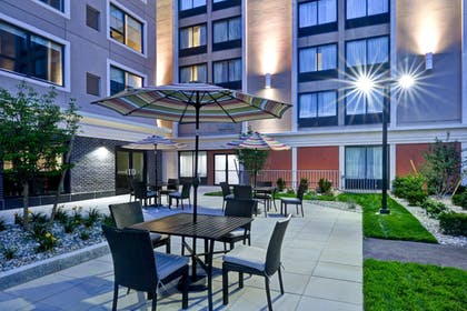 Terrace/Patio | Holiday Inn Express Boston