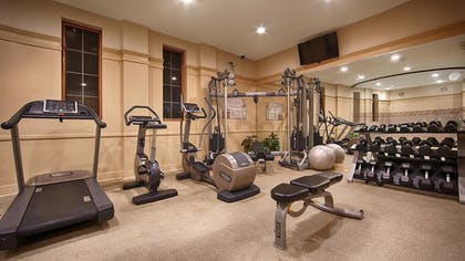 Fitness Facility |  | Best Western Plus Hawthorne Terrace Hotel