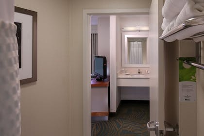 Bathroom | Springhill Suites by Marriott