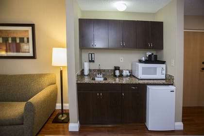 In-Room Kitchenette | Best Western Plus Ambassador Suites Venice