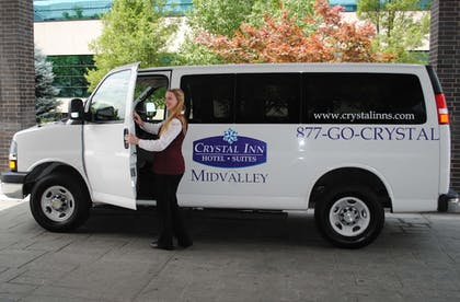 Airport Shuttle | Crystal Inn Hotel & Suites Midvalley