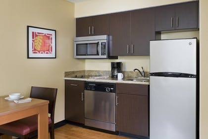 In-Room Kitchen | TownePlace Suites Houston Brookhollow