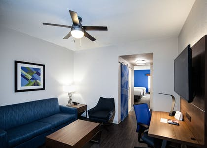Living Area | Holiday Inn Express & Suites Brentwood North-Nashville Area